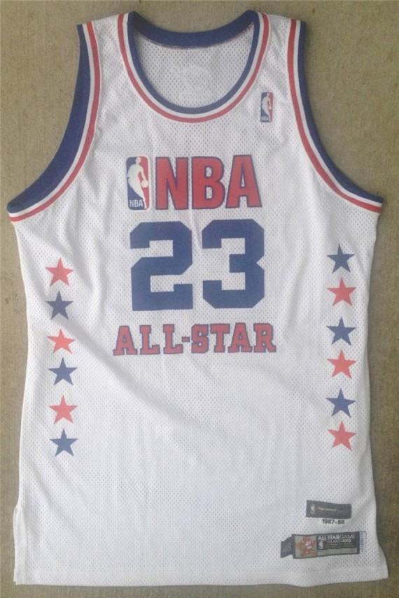 online store b16ad b8328 Vintage Gear: Michael Jordan Game-Worn 2003 NBA All-Star ...