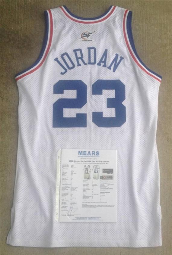 online store b16ad b8328 Vintage Gear: Michael Jordan Game-Worn 2003 NBA All-Star ...