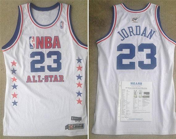 online store 2c342 1a155 Vintage Gear: Michael Jordan Game-Worn 2003 NBA All-Star ...