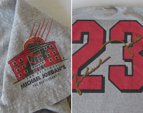 Vintage Gear: Michael Jordan's The Restaurant Nike T-Shirt