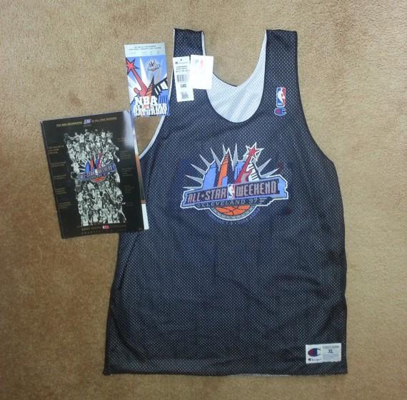 new arrival 44610 5fe07 Vintage Gear: Michael Jordan 1997 NBA All-Star Practice ...