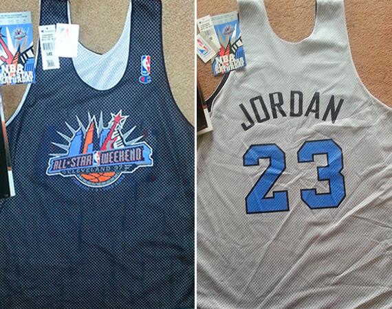 new arrival 600bc 1c320 Vintage Gear: Michael Jordan 1997 NBA All-Star Practice ...