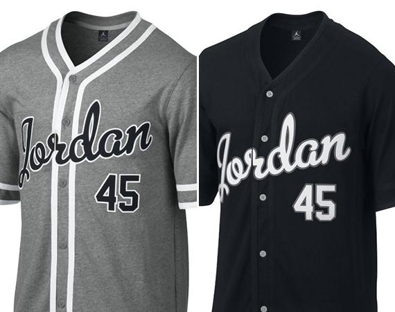 the latest e503a 239b6 jordan brand baseball jersey