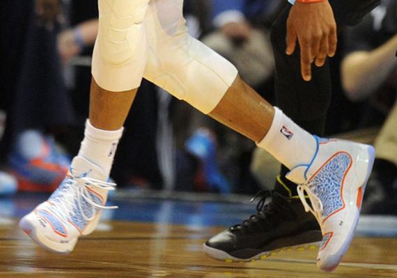 Russell Westbrook Debuts the Air Jordan