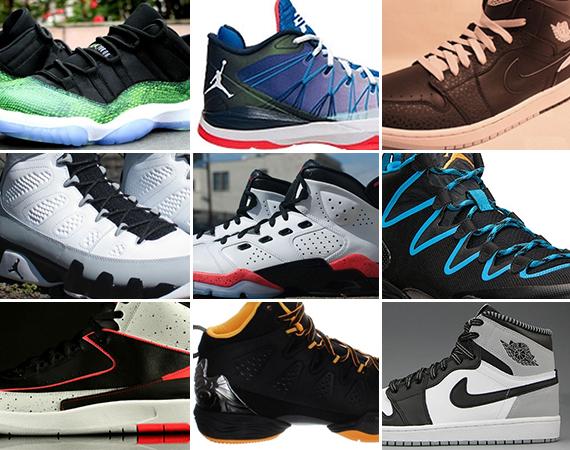 April 2014 Jordan Brand Releases