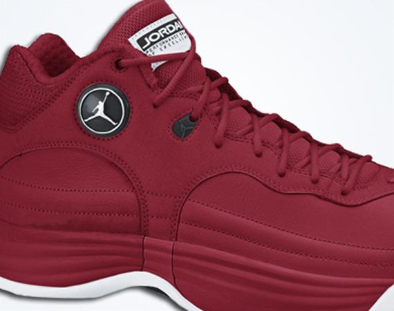 all red team jordans