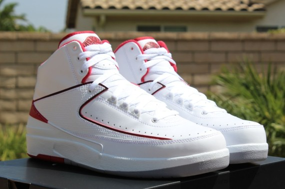 new product 88f51 3864f Air Jordan 2 Retro: White - Red - Available Early on eBay ...