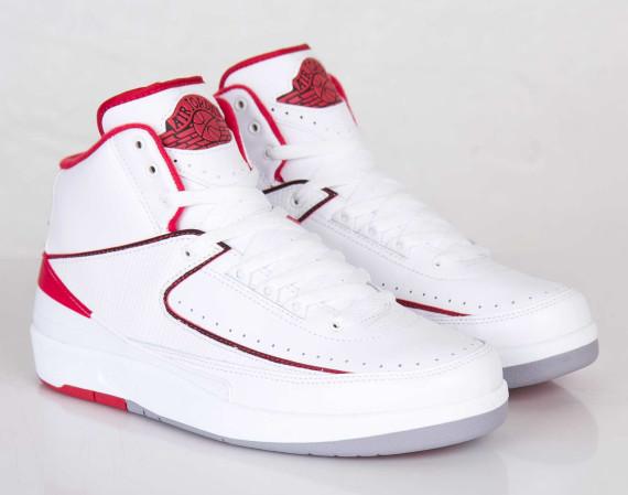 free shipping 00e96 62a0c Air Jordan 2 Retro: White - Varsity Red - Release Reminder ...