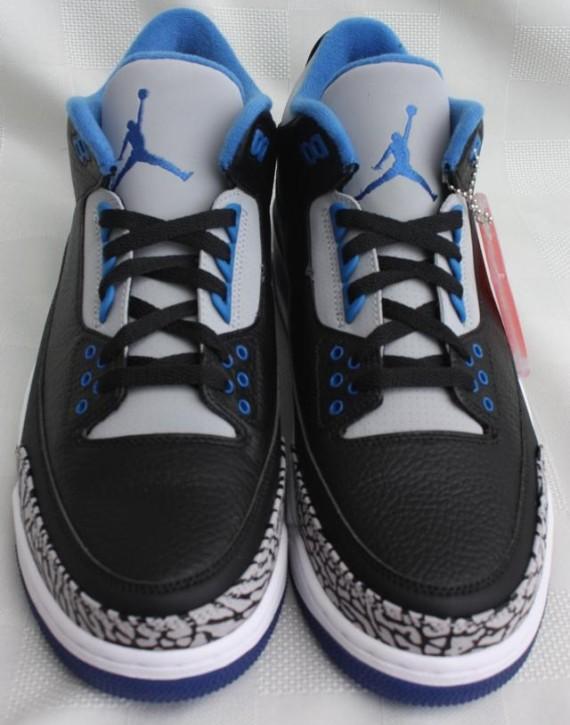 jordan 3 sport blue on feet