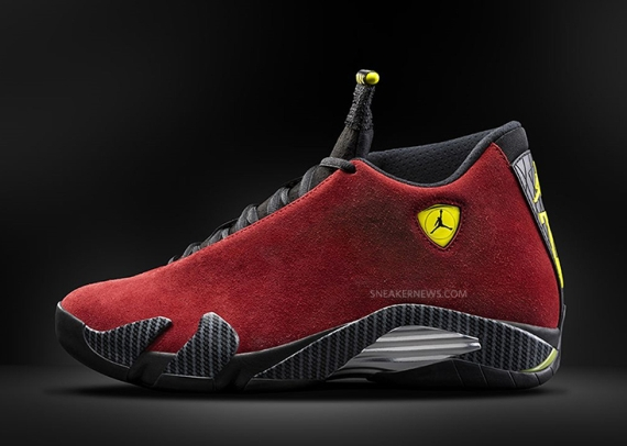 "best service 0fc81 53e04 The Air Jordan 14 ""Ferrari"" will release on August 16th, 2014. The shoe is  a surprise to say the least, as the Air Jordan 14 was added to the ladder  half of ..."