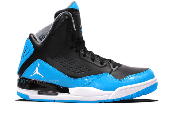 bbbbcf5642733 Jordan SC-3. Color: Black/White-Dark Powder Blue-Cool Grey Style Code:  629877-016