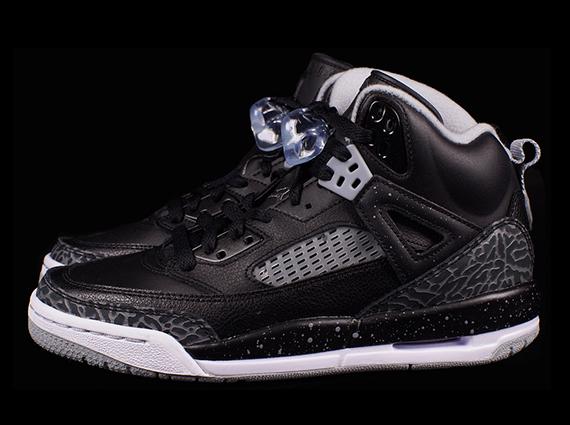 Jordan Spiz'ike GS: Black - Cool Grey