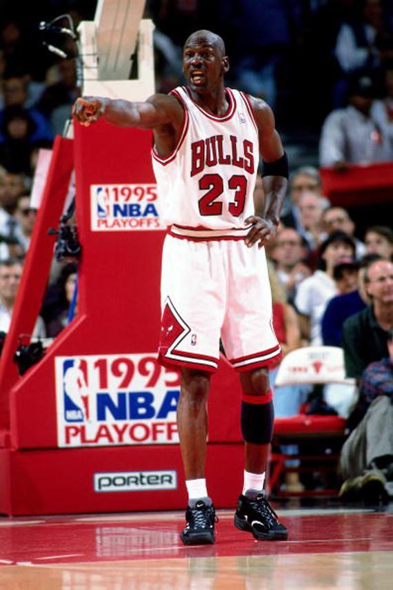 innovative design fbc32 b52f2 Remember Michael Jordan's 1995 Comeback With These 20 Photos ...