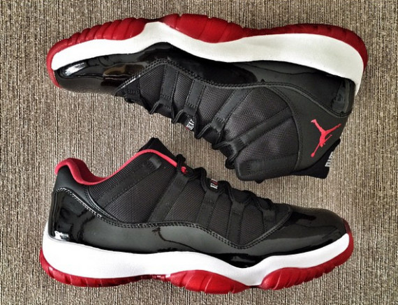 Air Jordan 11 Low Bred New Photos Air Jordans Release Dates