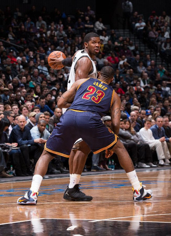 the best attitude 52c88 571f3 NBA Jordans Daily: James Johnson Puts Air Jordan 12