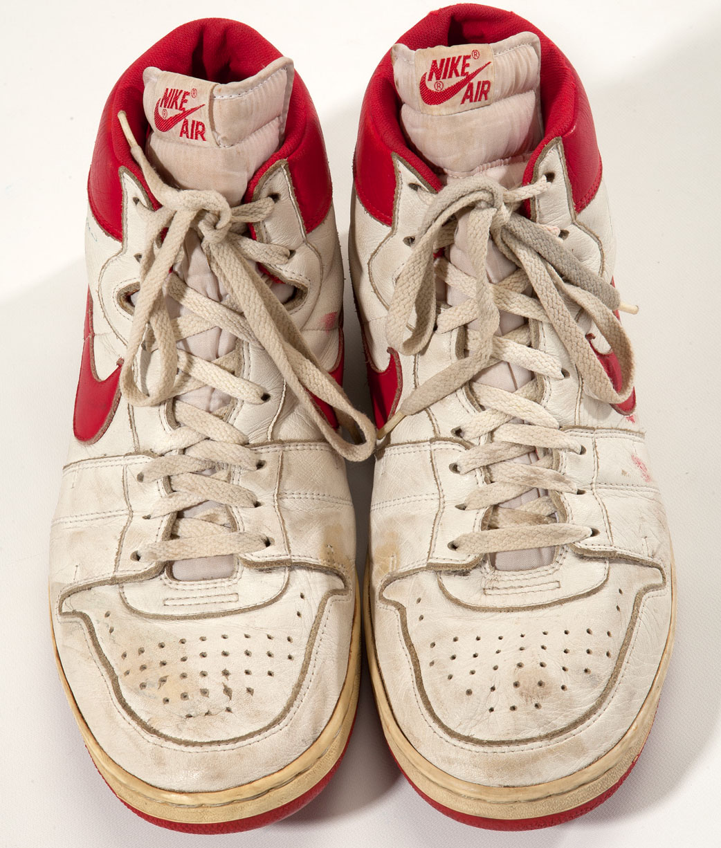 Game Worn Nike Air Ship Sneakers Sell