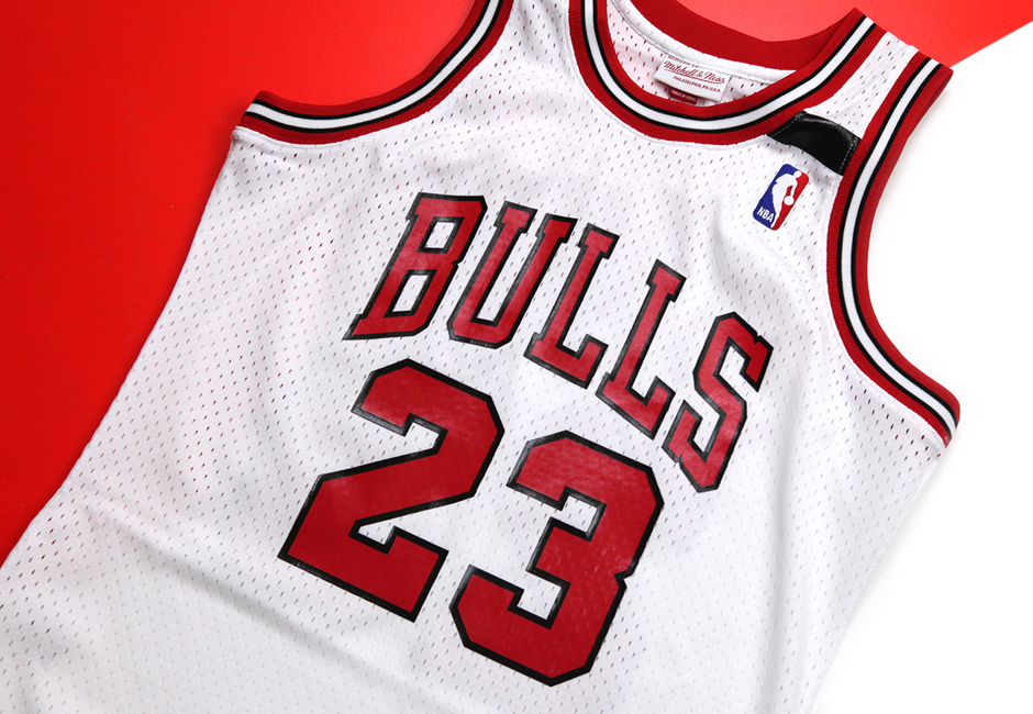 new style 54cbb 39a9c Mitchell & Ness To Release Michael Jordan's Jersey From