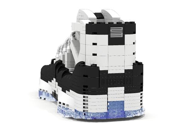 What If Air Jordan XI Became A Lego Set