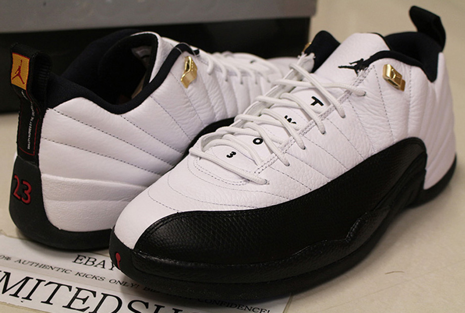 huge selection of b6be1 bf936 The Daily Jordan: Air Jordan 12 Low