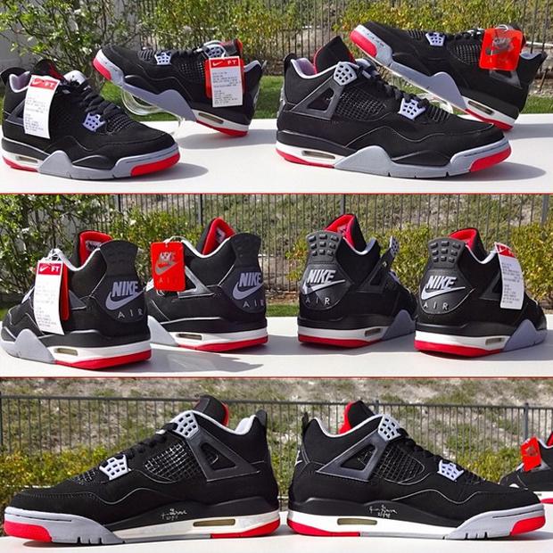 Air Jordan 4 Retro Black/Cement Grey