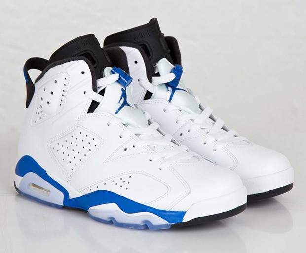 newest collection fd985 4b29c Air Jordan VI 'Sport Blue' Archives - Air Jordans, Release ...