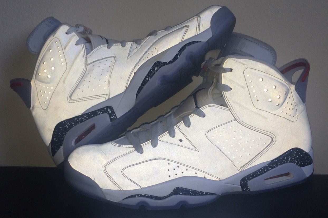new arrival cb3f7 099e1 This Rare Reflective Air Jordan 6 Is Available Somehow - Air ...