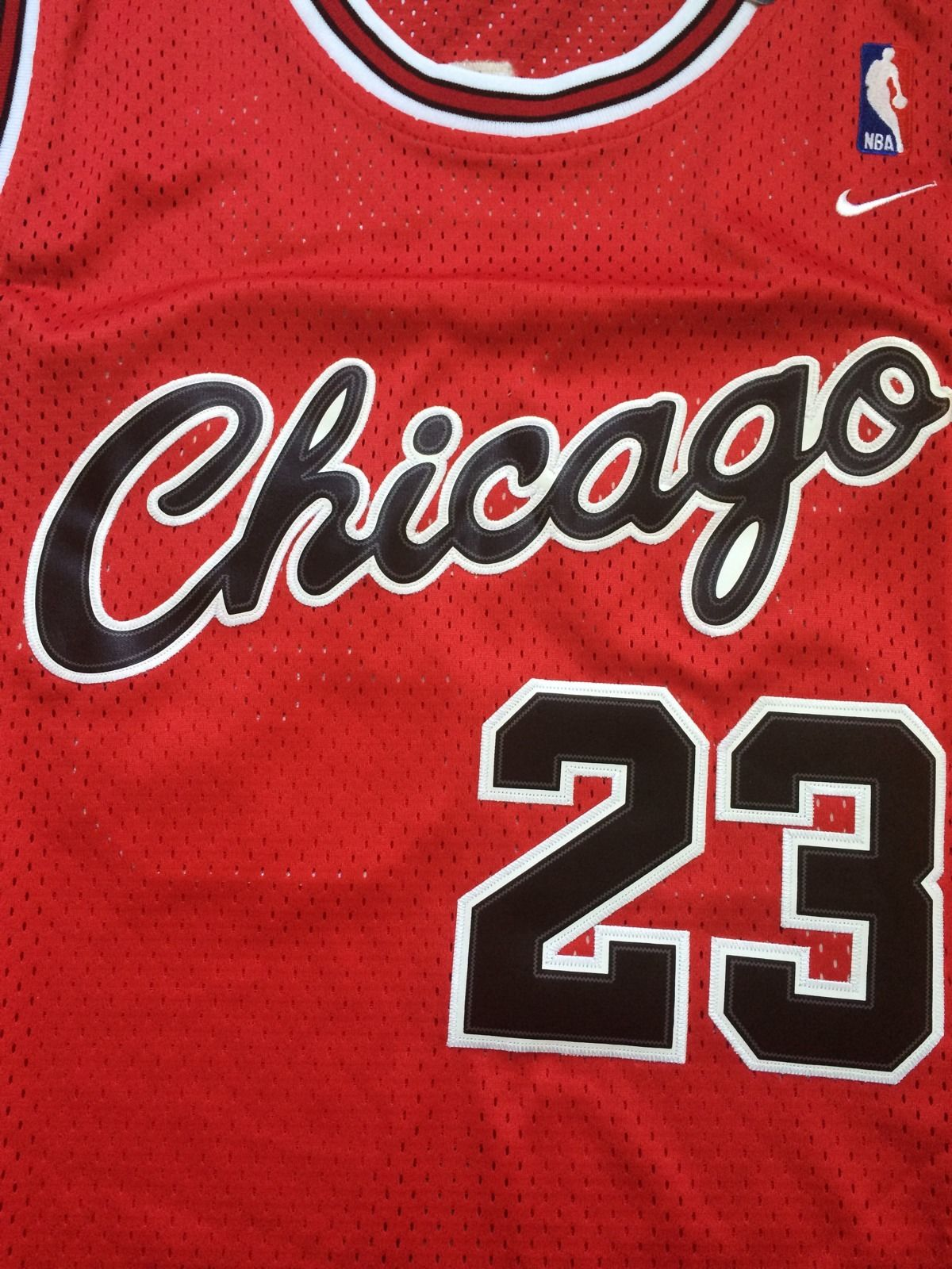 low priced 0c1c7 3f1b1 Vintage Gear: Nike Michael Jordan Bulls Rookie Jersey - Air ...