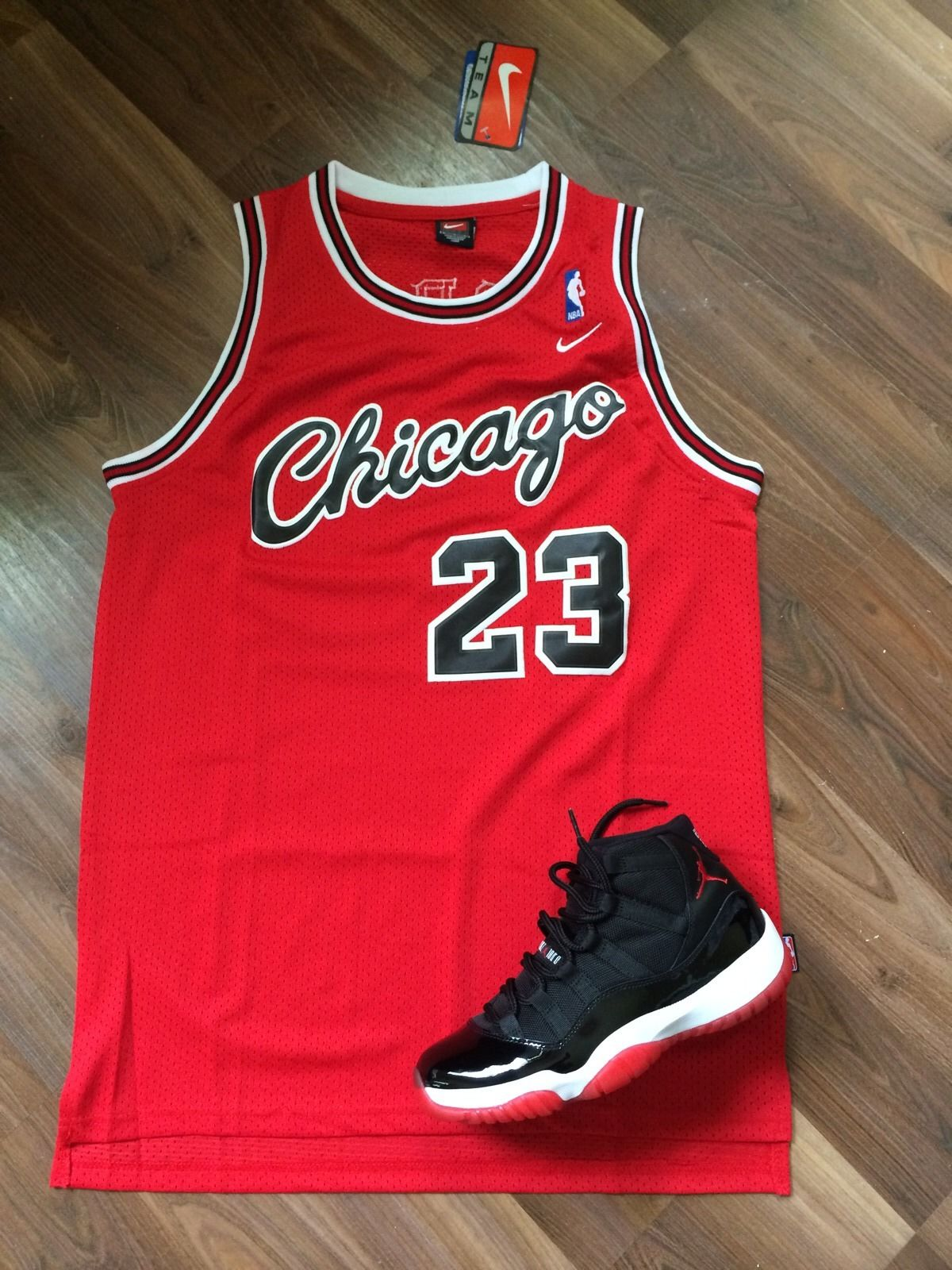 low priced 61c0e 5c0bd Vintage Gear: Nike Michael Jordan Bulls Rookie Jersey - Air ...