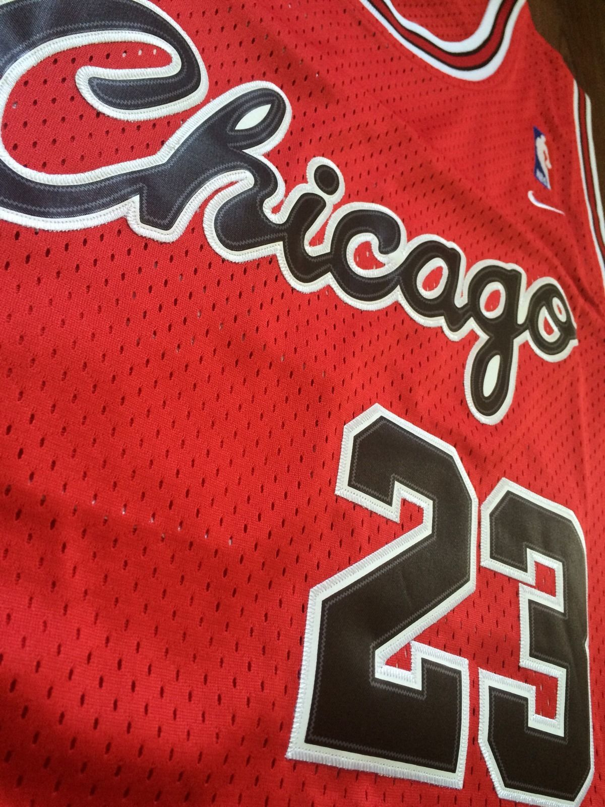 low priced bf32e 7b3d7 Vintage Gear: Nike Michael Jordan Bulls Rookie Jersey - Air ...