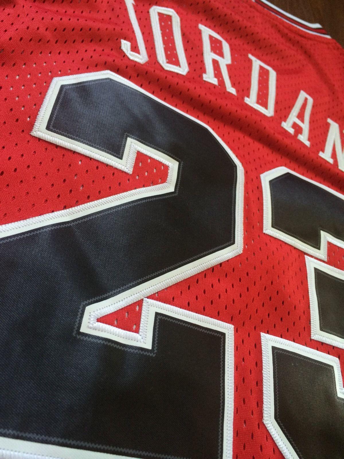 low priced 9a3ed 654ef Vintage Gear: Nike Michael Jordan Bulls Rookie Jersey - Air ...