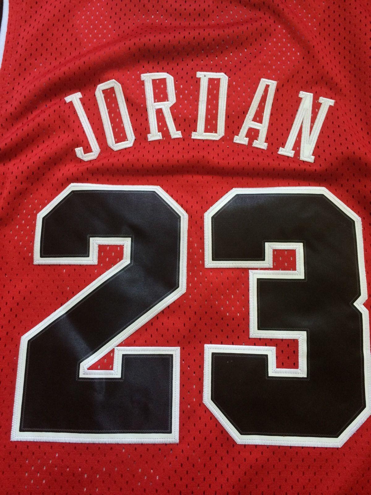low priced 67554 950a4 Vintage Gear: Nike Michael Jordan Bulls Rookie Jersey - Air ...