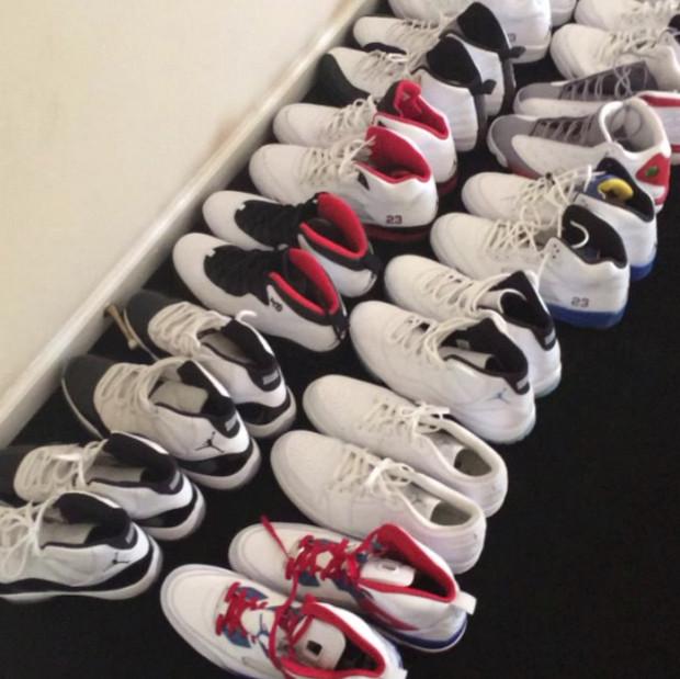 Huge Air Jordan Collection