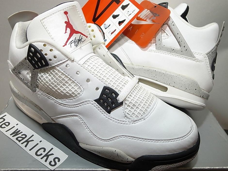 jordan 4 white cement 1999