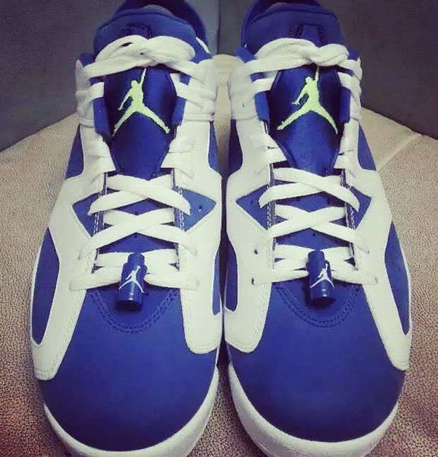 size 40 8c025 cf271 Air Jordan 6 Low Seahawks Archives - Air Jordans, Release ...