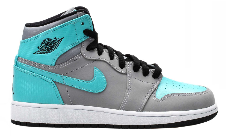 Air Jordan 1 GG - Wolf Grey - Tide Pool Blue - Available Now