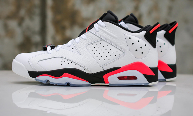 new concept 6baf8 7e21c Air Jordan 6 Low Infrared Archives - Air Jordans, Release ...