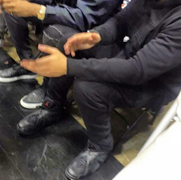 the best attitude acf39 084a8 Looks Like Drake Unveiled The Air Jordan 8 OVO - Air Jordans ...