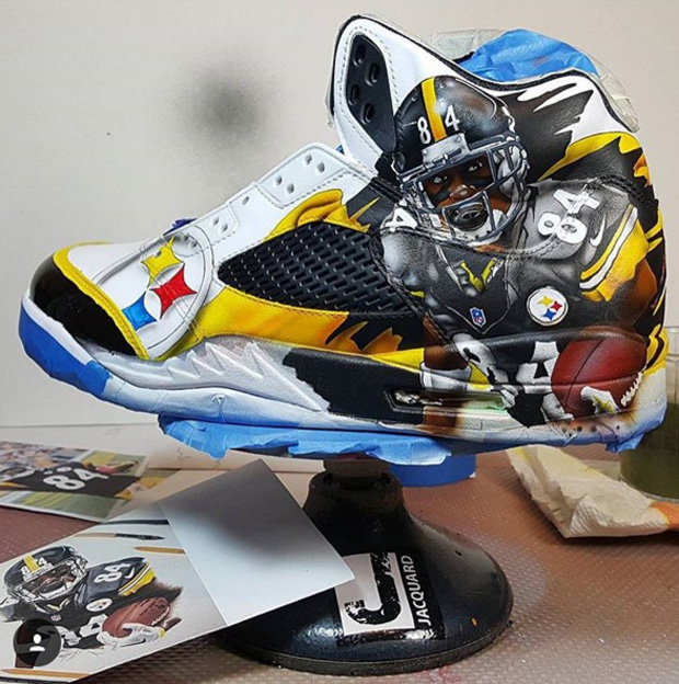 premium selection ed277 06fa7 Snoop Dogg Customized Air Jordans With A Certain Super ...