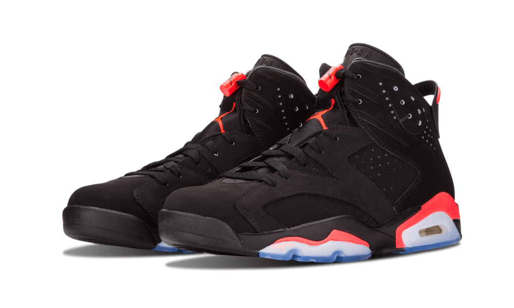 """new products 6acdd f41c3 Air Jordan 6 """"Black Infrared"""" instantly became one of the most important  sneakers in history when it arrived in 1991. Tinker Hatfield s design  progression ..."""