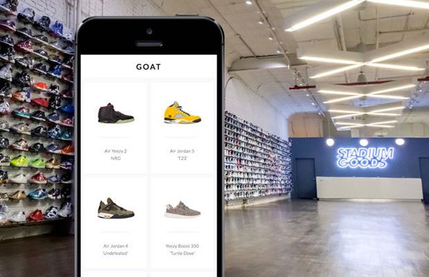 Stadium Goods x GOAT App Makes Buying