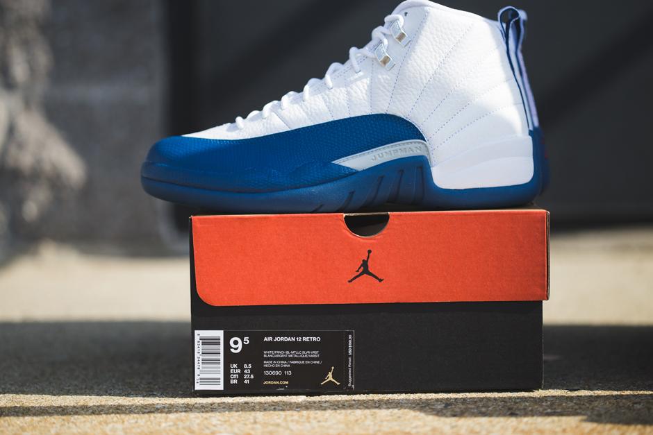 online retailer ab09d 3eff6 Air Jordan 12 French Blue Archives - Air Jordans, Release Dates   More    JordansDaily.com