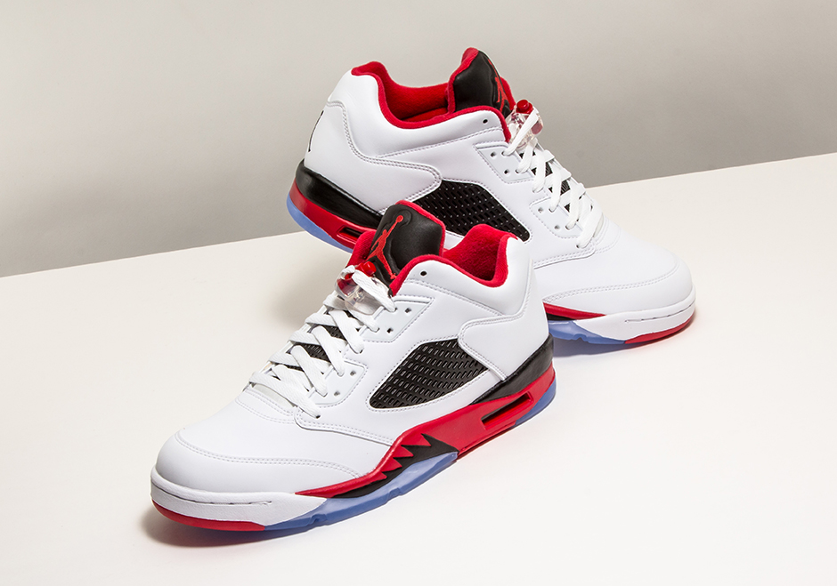 Air Jordan 5 Low Fire Red Archives