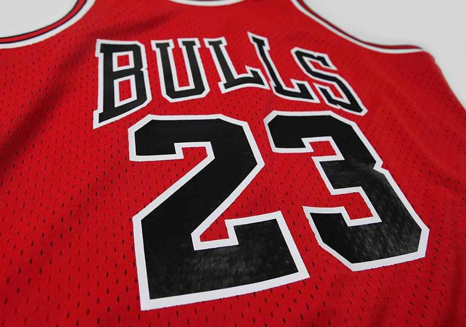 new styles a7e7d 415c1 Mitchell & Ness Releasing Michael Jordan's 63-Point Playoff ...