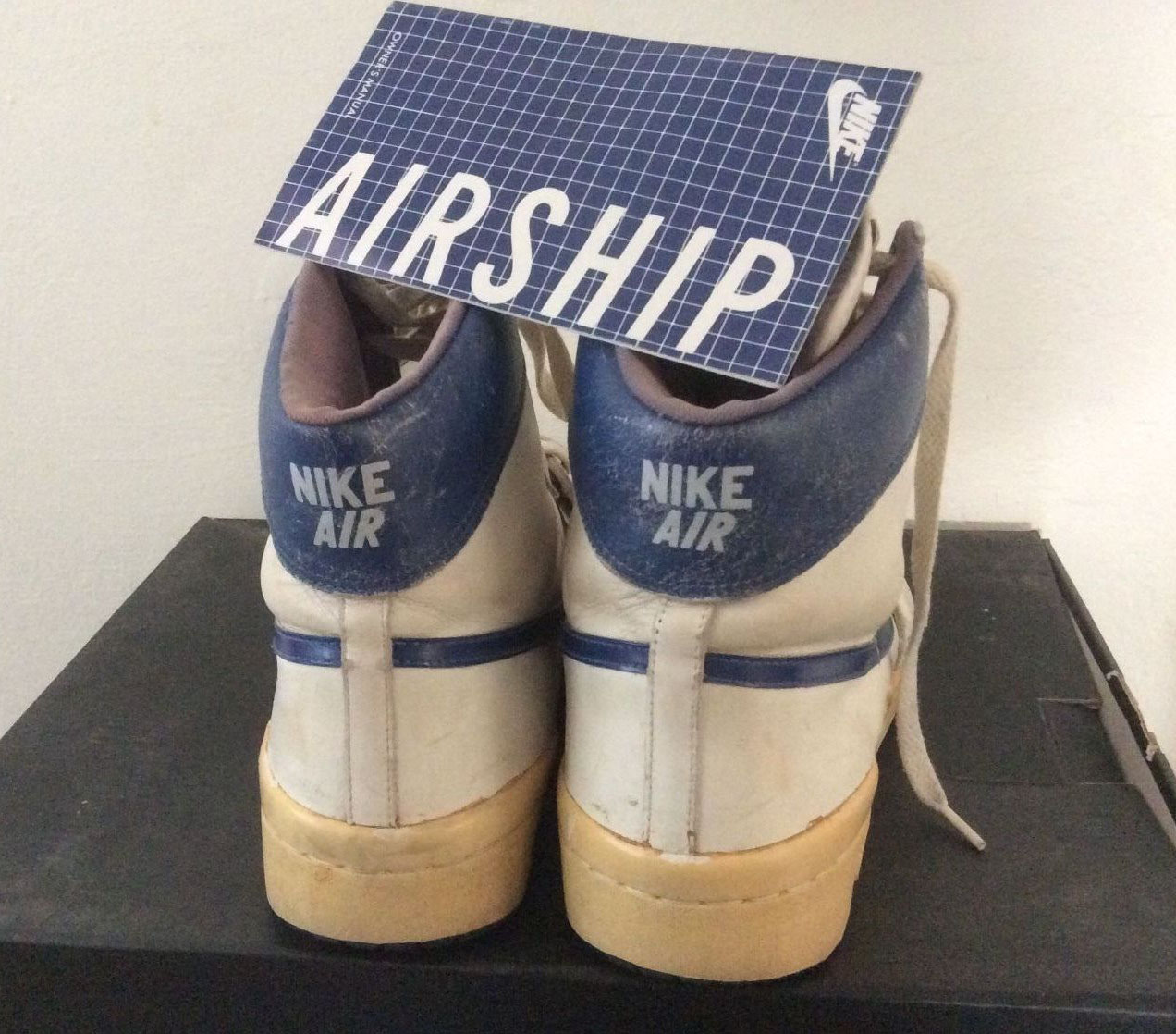 A Rare Look At Nike Air Ship - Michael Jordan's First Pro Sneaker