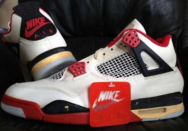 Vintage Gear: Air Jordan 4