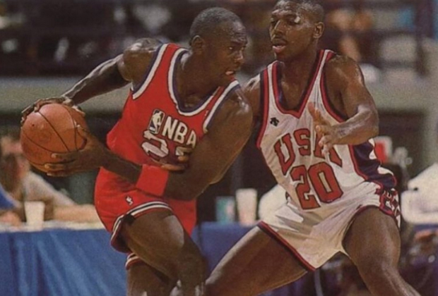 #MJMondays: MJ Shows The '88 Olympic Squad How It's Done