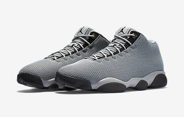 "100% authentic 0edd6 f72ef Jordan Horizon Low continues to branch out its colorway selection through  the summer, including a new neutral ""Wolf Grey"" edition."