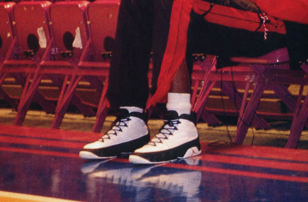 Flashback Friday: Michael Jordan Did Wear The OG Air Jordan 9 After All