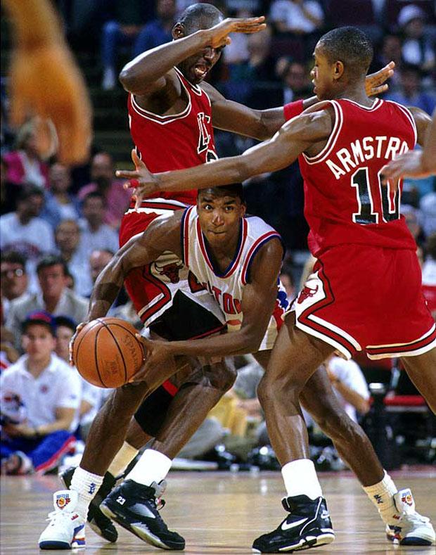 MJ Battles The Pistons In Air Jordan 5