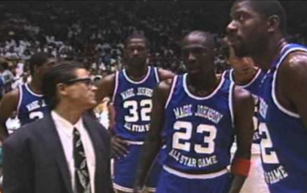 huge discount d8d7e 7c3b5 MJMondays: Michael Jordan Dunks Everything At Magic ...